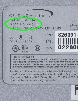 Celsius Mobile H - BIOS 1 23
